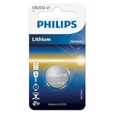 Battery Philips CR2032 3 V Lithium