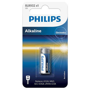 Baterija 8LR932 12 V Alkaline (MN21 / LR23A), Philips 8LR932/01B