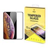 Ekrāna aizsargstikls Full Glue 5D Tempered Glass priekš iPhone XR, Mocco