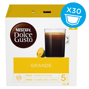 Coffee capsules Nescafe Dolce Gusto Grande