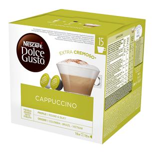 Coffee capsules Nescafe Dolce Gusto Cappuccino