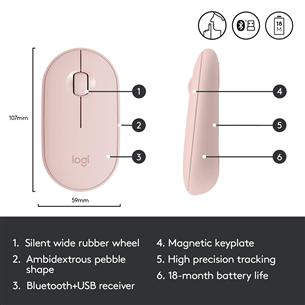 Беспроводная мышь Logitech Pebble M350