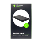 Power Bank FreeNet Basic USB-C, Cager / 12000 mAh