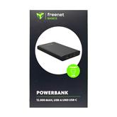 Портативное зарядное устройство FreeNet Basic USB-C, Cager / 12000 mAh