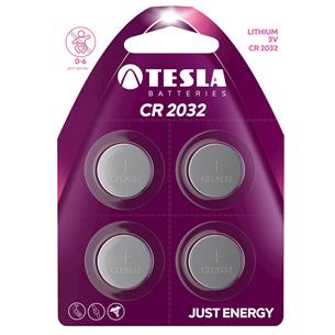 Baterijas CR2032, Tesla / 4 gab