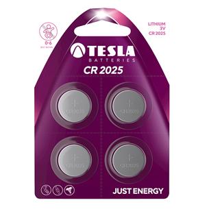 Baterijas CR2025, Tesla / 4 gab