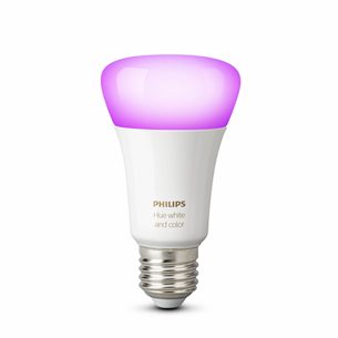 Spuldze E27 White and Color Ambience Bluetooth, Philips