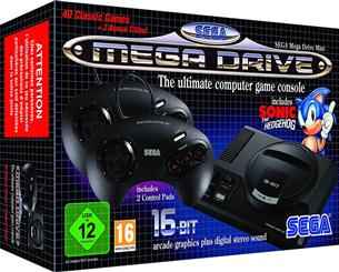 Spēļu konsole SEGA Mega Drive Mini