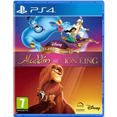 PS4 games Aladdin & The Lion King