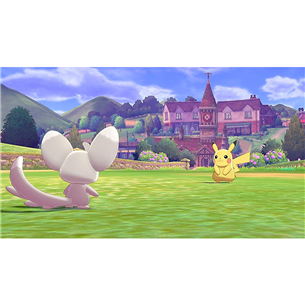 Spēle priekš Nintendo Switch, Pokemon Shield