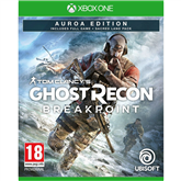 Xbox One game Ghost Recon Breakpoint Aurora Edition