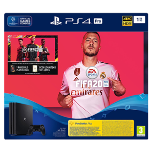 Spēļu konsole PlayStation 4 Pro, Sony / 1 TB + FIFA 20