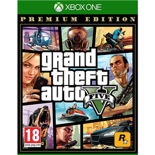 Spēle priekš Xbox One, Grand Theft Auto V: Premium Online Edition