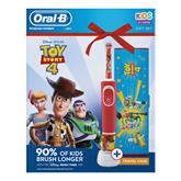 Elektriskā zobu birste Oral-B ToyStory + futrālis, Braun