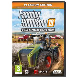 Spēle priekš PC, Farming Simulator 19 Platinum Edition