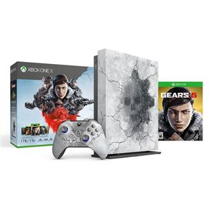 Spēļu konsole Microsoft Xbox One X (1TB) + Gears 5 Limited Edition