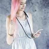 Apvalks Cross-Body ar siksniņu priekš iPhone X / XS, Hama