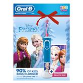 Электрическая зубная щетка Braun Oral-B Frozen + стакан