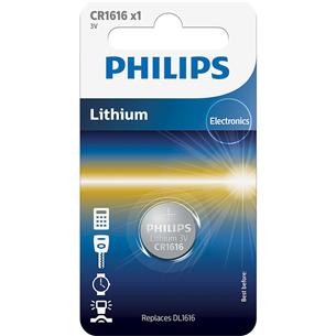 Baterija CR1616 3 V Lithium, Philips