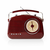 Радио RDFM5000BN, Nedis