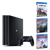 Gaming console Sony PlayStation 4 Pro (1 TB) + 3 games