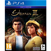 Spēle priekš PlayStation 4, Shenmue III - Day 1 Edition