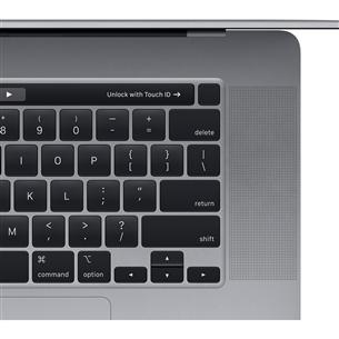 Ноутбук Apple MacBook Pro 16'' (2019), RUS клавиатура