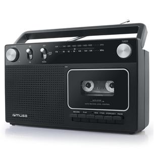 Радио с кассетным магнитофоном Muse M-152RC