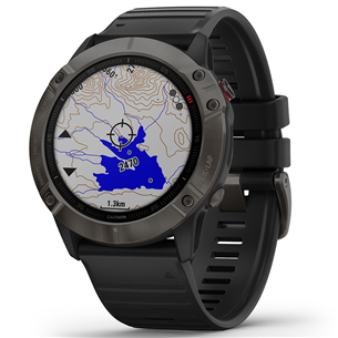 GPS watch FENIX 6X Pro Sapphire, Garmin