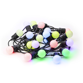 Smart Christmas lights Twinkly Festoon Lights 20 RGB Lamps