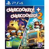 Spēle priekš PlayStation 4, Overcooked 1 & 2