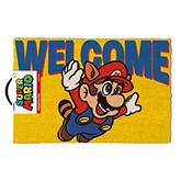 Door mat Mario Welcome