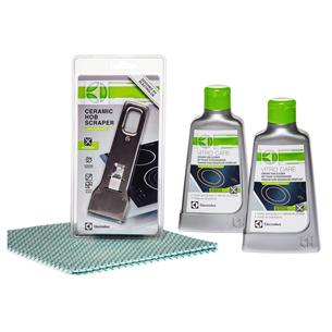 Keramisko virsmu tīrīšanas līdzekļu komplekts, Electrolux