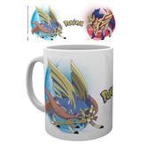 Mug Pokemon Zamazenta and Zacian