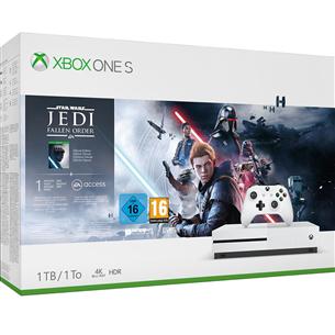 Spēļu konsole Microsoft Xbox One S (1TB) + Star Wars Jedi: Fallen Order