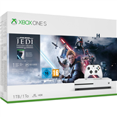 Игровая приставка Microsoft Xbox One S (1 ТБ) + Star Wars Jedi: Fallen Order