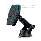 Car phone holder + wireless charging, Swissten