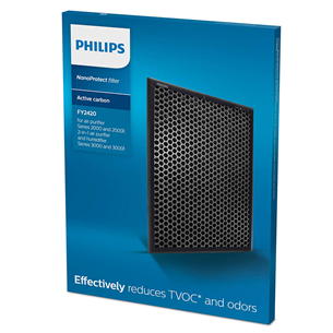 Aktīvās ogles filtrs priekš gaisa mitrinātāja/attīrītāja, Philips