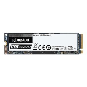SSD cietais disks KC2000 2280, Kingston / 1TB, M.2