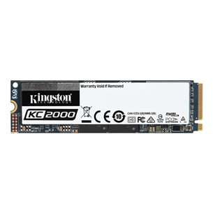 SSD cietais disks KC2000 2280, Kingston / 250GB, M.2