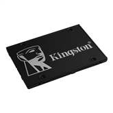 SSD cietais disks KC600, Kingston / 256GB