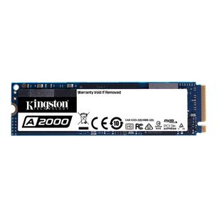 SSD cietais disks A2000 2280, Kingston / 250GB, M.2