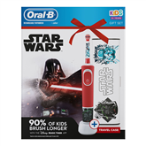 Electric toothbrush Braun Oral-B Starwars + travel case