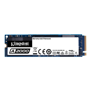 SSD cietais disks A2000 2280, Kingston / 500GB, M.2