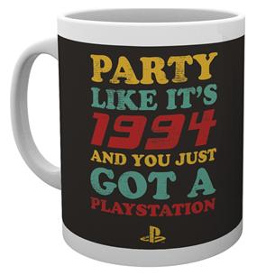 Krūze Playstation Party