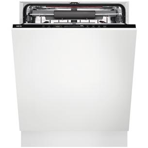 Iebūvējamā trauku mazgājamā mašīna, AEG / 60cm FSE63767P