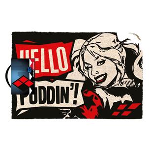 Durvju paklājs Harley Quinn Hello pudding (40x60cm)