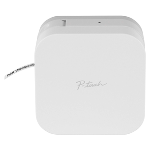 Bezvadu uzlīmju printeris PT-P300BT P-touch CUBE, Brother PTP300BTRE1