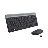 Wireless keyboard + mouse Logitech MK470 Slim Combo (US)