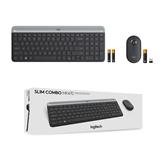Bezvadu klaviatūra + pele MK470, Logitech / RUS